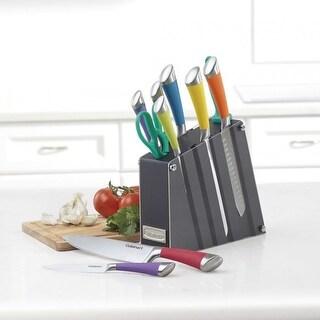 Cuisinart Acrylic Knife Block Set (11 Pieces/Multicolor)