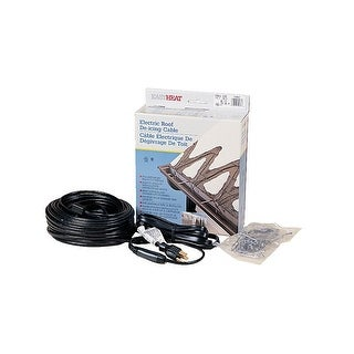 Easy Heat ADKS-500 Roof and Gutter De-Icing Heating Cable, 100'