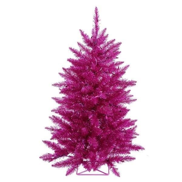 "3' x 29"" Fuchsia Tree Dural LED 70Prpl"
