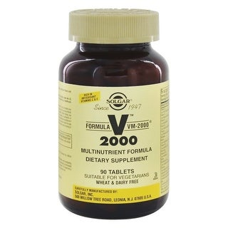 Solgar Formula VM-2000 Tablets (Multinutrient System) 90