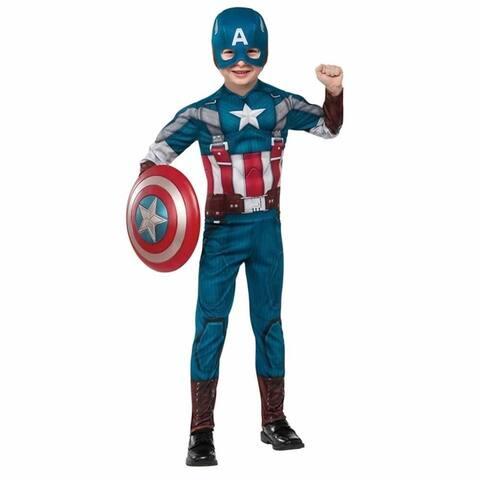 Marvel Captain America The Winter Soldier size L 12/14 Deluxe Retro Costume Rubie's