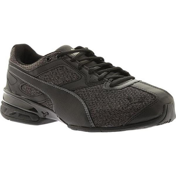 e9f407eb2ed Shop PUMA Men s Tazon 6 FM Sneaker Puma Black Asphalt Knit - Free ...