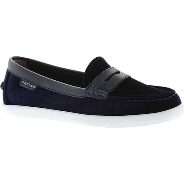 38c18273598 Cole Haan Women  x27 s Pinch Weekender Loafer Marine Blue Velvet Marine Blue