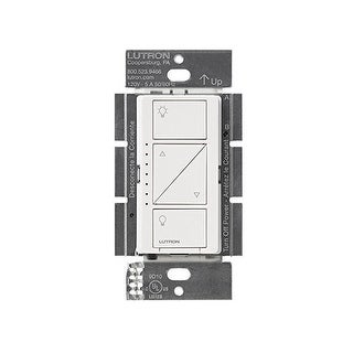 Lutron Caseta Wireless In Wall Dimmer Pro (White) - White