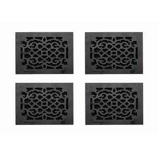 4 Floor Heat Register Louver Vent Victorian Cast 10 x 12 Duct Renovator's Supply