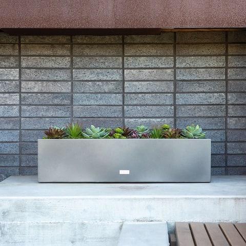 Metallic Series Window Box Planter