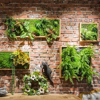 RusticReach Artificial Plant Succulent Wall Art