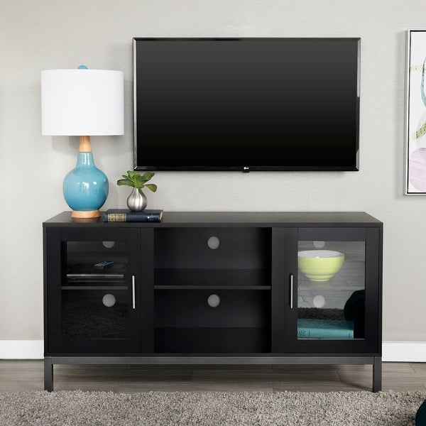 Porch & Den Dart 52-inch TV Console with Metal Legs. Opens flyout.