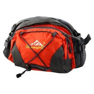 HWJIANFENG Authorized Single Shoulder Pack Adjustable Sports Waist Bag Orange
