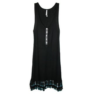 Pajama Drama Women's Ruffled Tank Nightgown