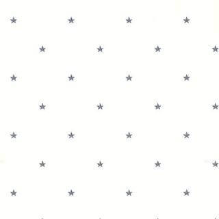 Brewster CTR44043 Marlena Blue Stars Forever Toss Wallpaper