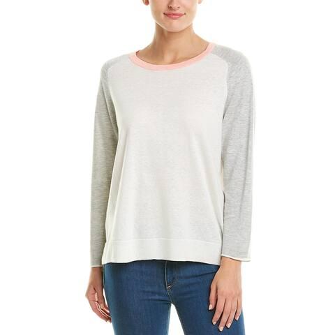 Lilla P Linen-Blend Pullover