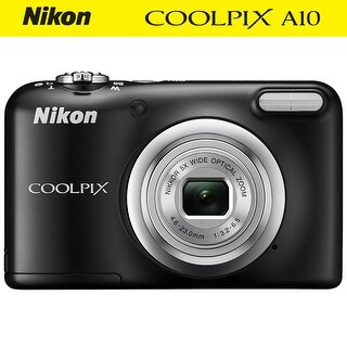 Nikon COOLPIX A10 Digital Camera Kit (Intl Model)