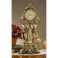 Design Toscano Amboise Twin Cherubs Mantel Clock