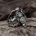 Vienna Jewelry Stainless Steel Mechanics Engine Ring - Thumbnail 3