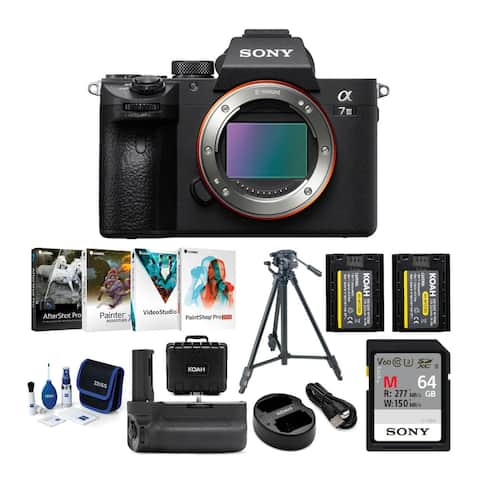 Sony Alpha a7 III Mirrorless Camera (Body Only) and Accessories Bundle