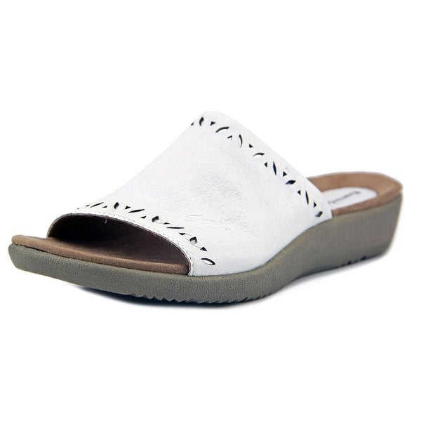 d2a155c87244 Shop Earth Origins Valorie Women White Sandals - Free Shipping On ...
