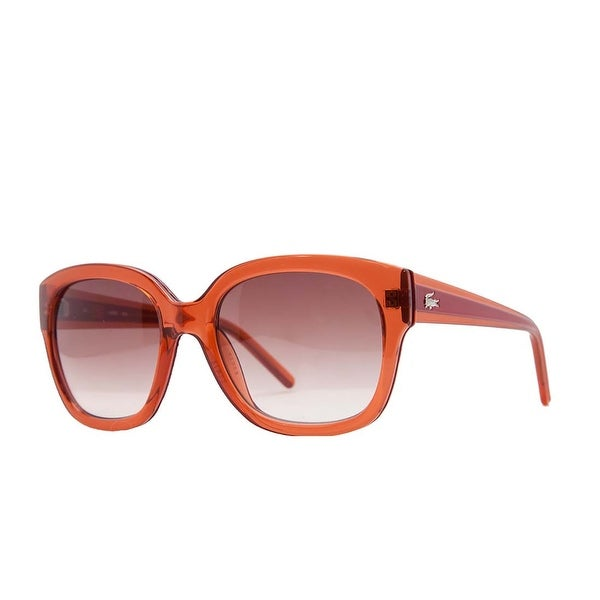 Lacoste L 698S 630 Pink/Red Square Sunglasses - 53-19-140