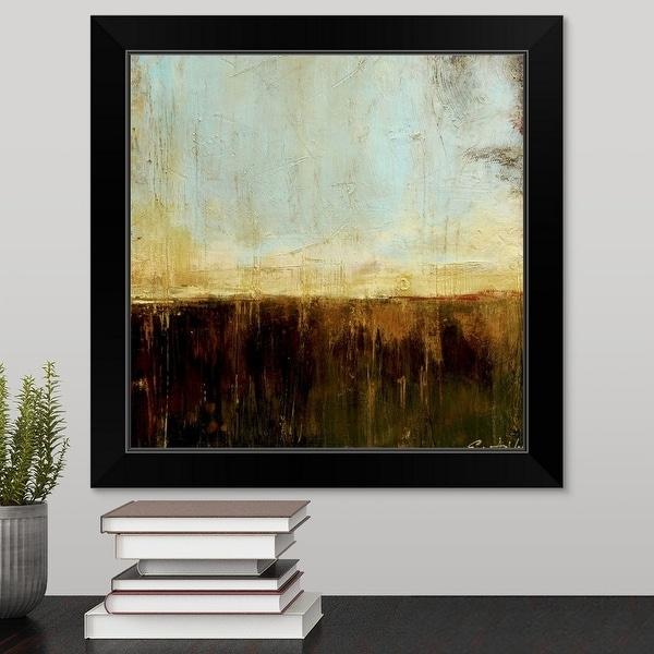 Erin Ashley Economy Framed Print with Standard Black Frame entitled Timber Creek