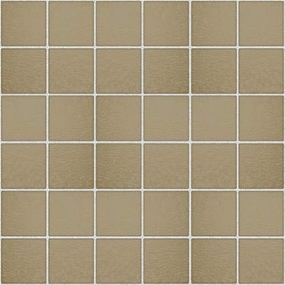 Miseno MT-G7FRAN Classic Glass Mosaic Wall Tile (10.56 SF / Carton) - Tan