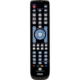"""RCA (Do not use) RCRN04GR RCA RCRN04GR Universal Remote Control - For TV, Satellite Box, Cable Box, DVD Player, VCR, Blu-ray"