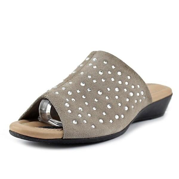 J. Renee Stellen Women Taupe Sandals