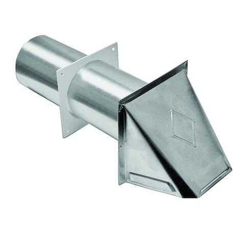 """Lambro 344 Aluminum Dryer Vent, 4"""""""