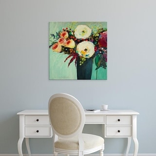 Easy Art Prints Jacqueline Brewer's 'Ode to Summer 9' Premium Canvas Art