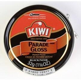 Kiwi Parade Gloss Premium Shoe Polish Paste, 1-1/8 oz, Black, 3-Pack