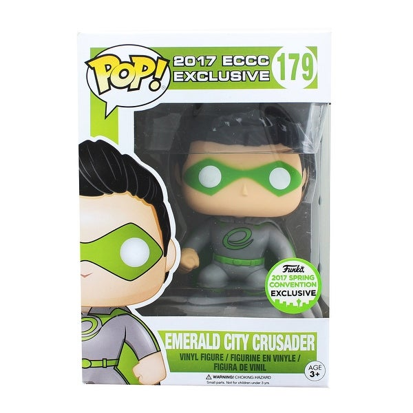 Emerald City Crusadesr POP Vinyl Figure: 2017 ECCC Exclusive - multi
