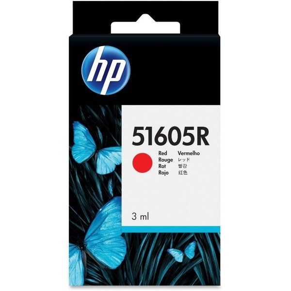 Hp inc. 51605r printer cartridge - 1 x red - yield: 500 pages