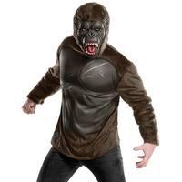 Kong Skull Island King Kong Deluxe Costume Adult - Brown