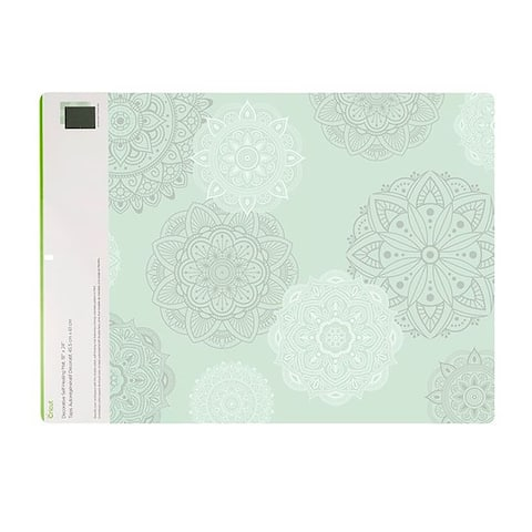 Mint Decorated 18X24 Cricut Self Healing Cutting Mat