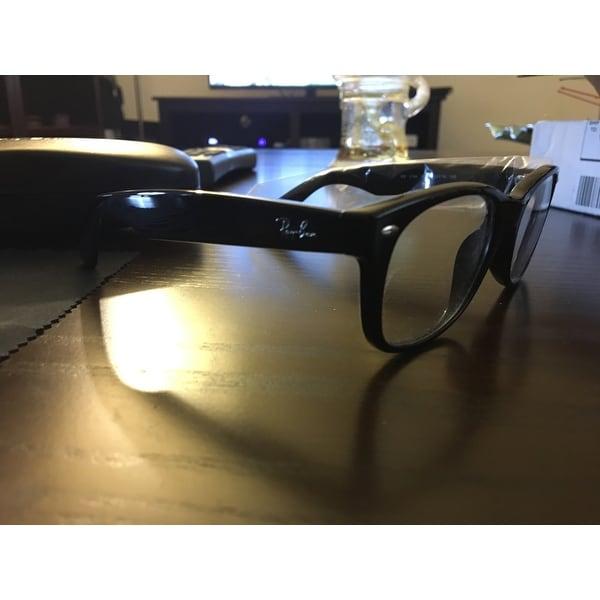 65ef0bfa6a3 Shop Ray-Ban RX 5184  New Wayfarer  52-mm 2000 Black Eyeglasses - Free  Shipping Today - Overstock - 6585314