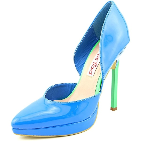 2 Lips Too Too Thrust   Pointed Toe Synthetic  Heels