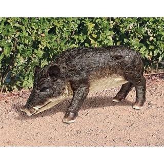 Design Toscano Razorback Wild Boar Statue