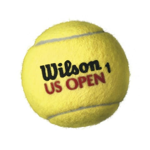 Wilson T1071 U.S. Open Tournament Select Extra Duty Tennis Balls, 3-Pack