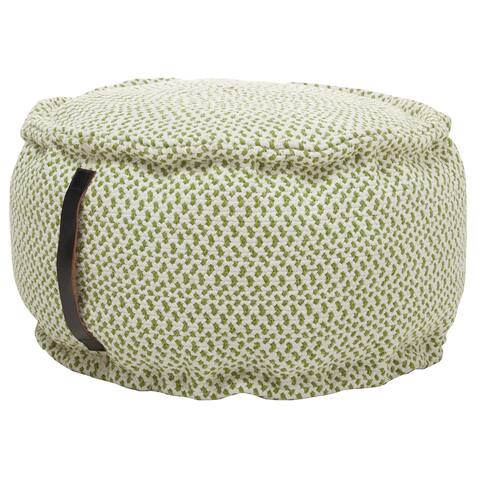 "Mina Victory Outdoor Pillows Pouf, ( 20"" x 20"" x 12"" )"