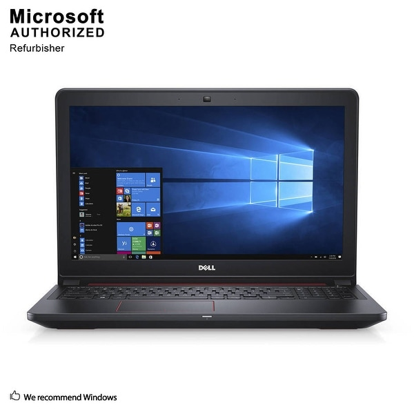 "Dell Inspiron 15 5000 5577 15.6"", FHD, Gaming Intel Core i5 7300HQ 2.5GHz, 8G RAM, 1TB HDD, Nvidia GTX 1050 4GB, WIN10H64(EN/ES)"