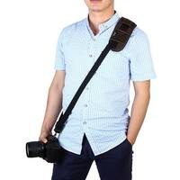 SHETU Authorized Universal Digital SLR Camera Belt Strap Brown for DSLR
