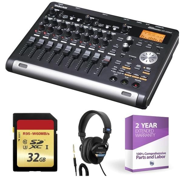 shop tascam dp 03sd digital portastudio 8 track recorder free shipping today overstock. Black Bedroom Furniture Sets. Home Design Ideas