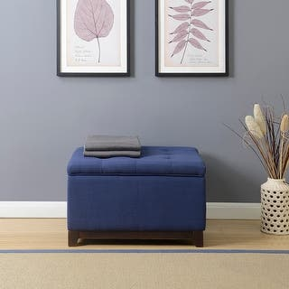 Square Storage Ottoman For Less Overstock Com