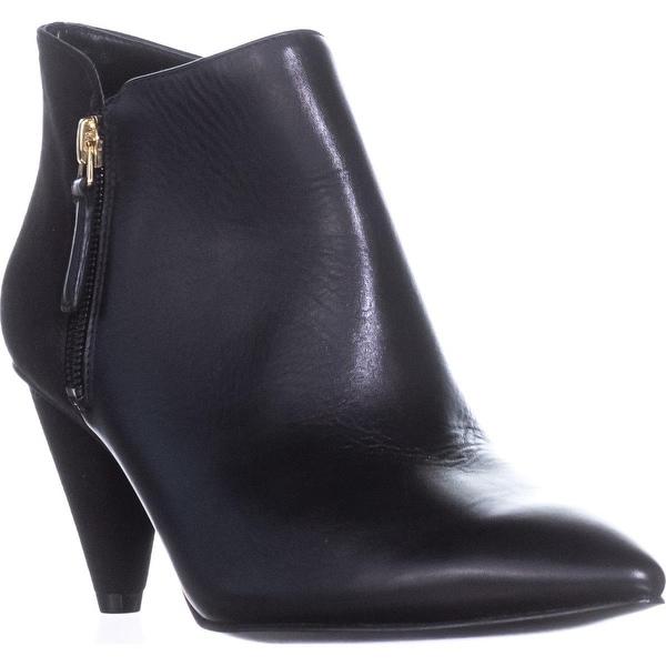 Nine West Yames Ankle Booties, Black/Black