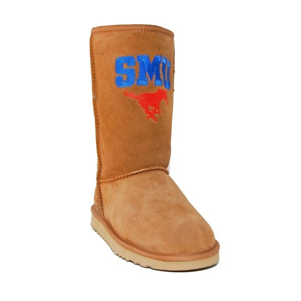 Gameday Boots Womens Southern Methodist Roadie Hickory SMU-RL1055-1