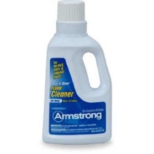 Armstrong 00330408 Once 'n Done No-Rinse Floor Cleaner Concentrate, 1 Gallon