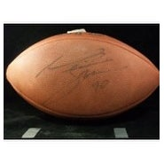 Signed Smith Neil Official NFL Football Light Signature autographed