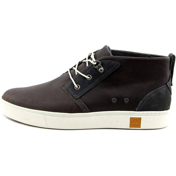 Todos los años mejilla Inconcebible  Shop Timberland Amherst Chukka Men Round Toe Canvas Gray Chukka Boot -  Overstock - 14432781