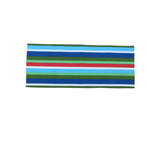 D.Franco Stripe Printed Cotton Table Runner - 72 x 14