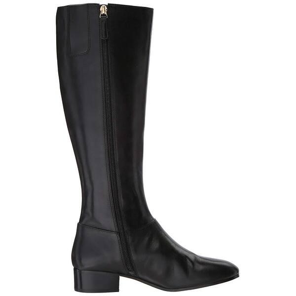 a69c267cc94 Shop Nine West Womens Oreyan Leather Round Toe Knee High Fashion ...