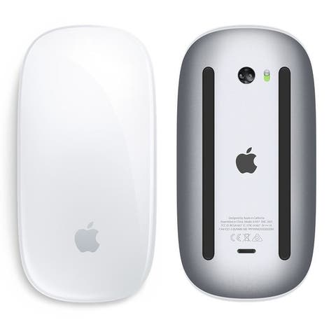 Apple Magic Mouse 2 Wireless Rechargeable (MLA02LL/A) - White - 3 x 5 x 2